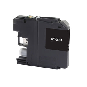 Brother LC103BK, LC101BK High Yield Black Inkjet Cartridge - Blue Fox Group