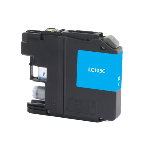 Brother LC103C , LC101C Cyan Inkjet Cartridge - Blue Fox Group