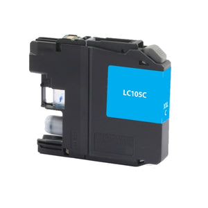 Brother LC105C Cyan Inkjet Cartridge - Blue Fox Group