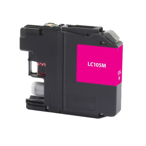 Brother LC105M High Yield Magenta Inkjet Cartridge - Blue Fox Group