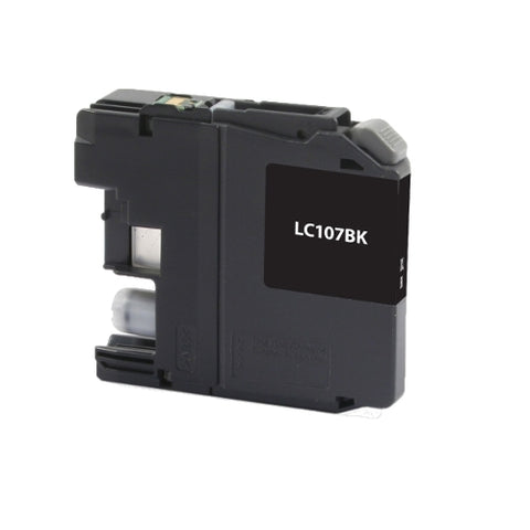 Brother LC107BK High Yield Black Inkjet Cartridge - Blue Fox Group