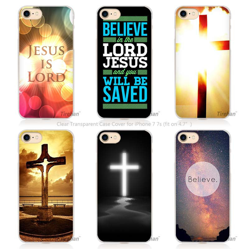 Christian Jesus Phone Case Cover for Apple iPhone 5 5s SE 5C 6 6s 7 Plus