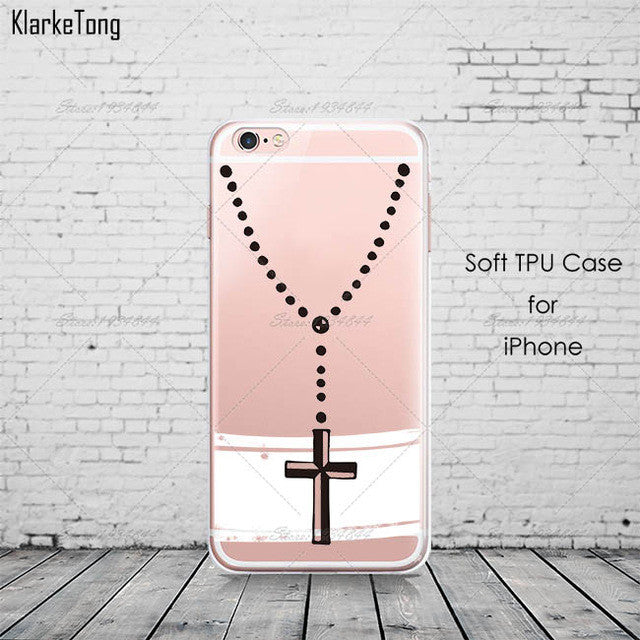 Jesus Design Cases Cover For iphone 6 6s 5 5s se 7/7plus