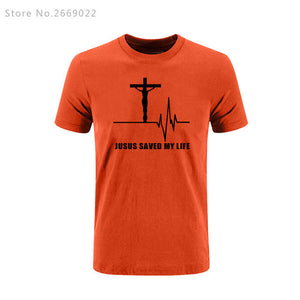Jesus Saved My Life T Shirt