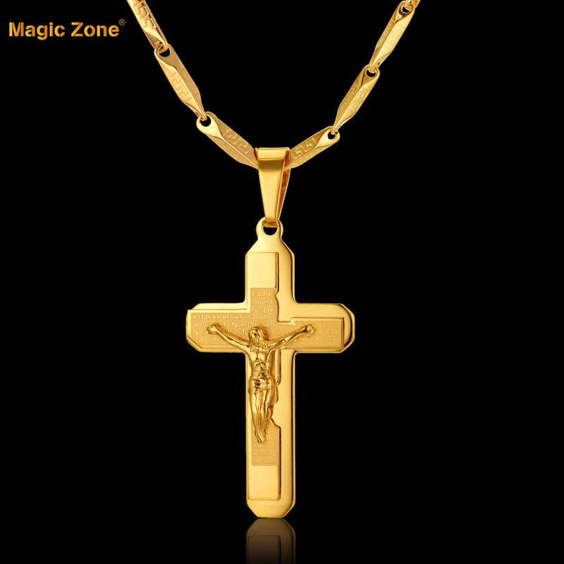 Gold Chain Necklace Unisex