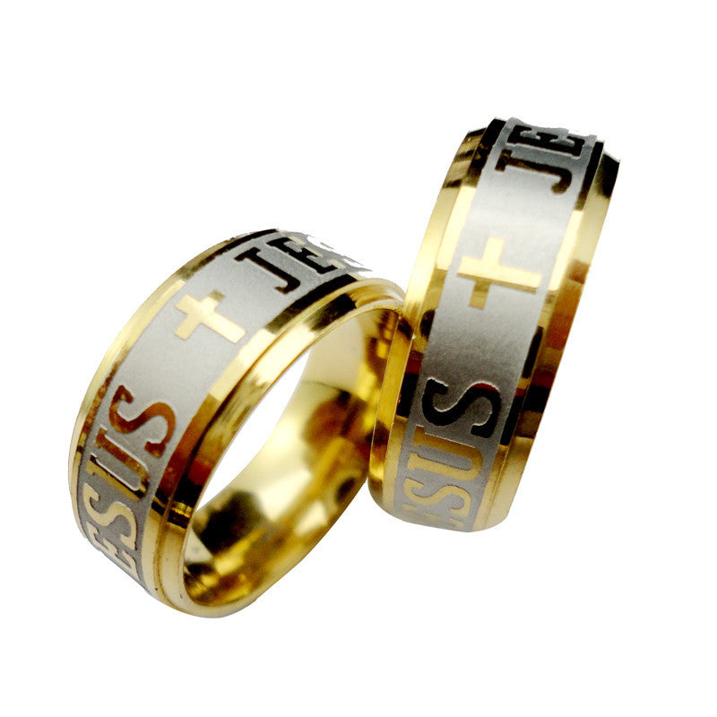 Never Fade Gold Stainless Steel Ring