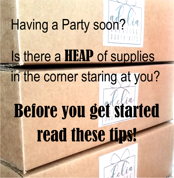 Partyscape: Tips for Set-Up