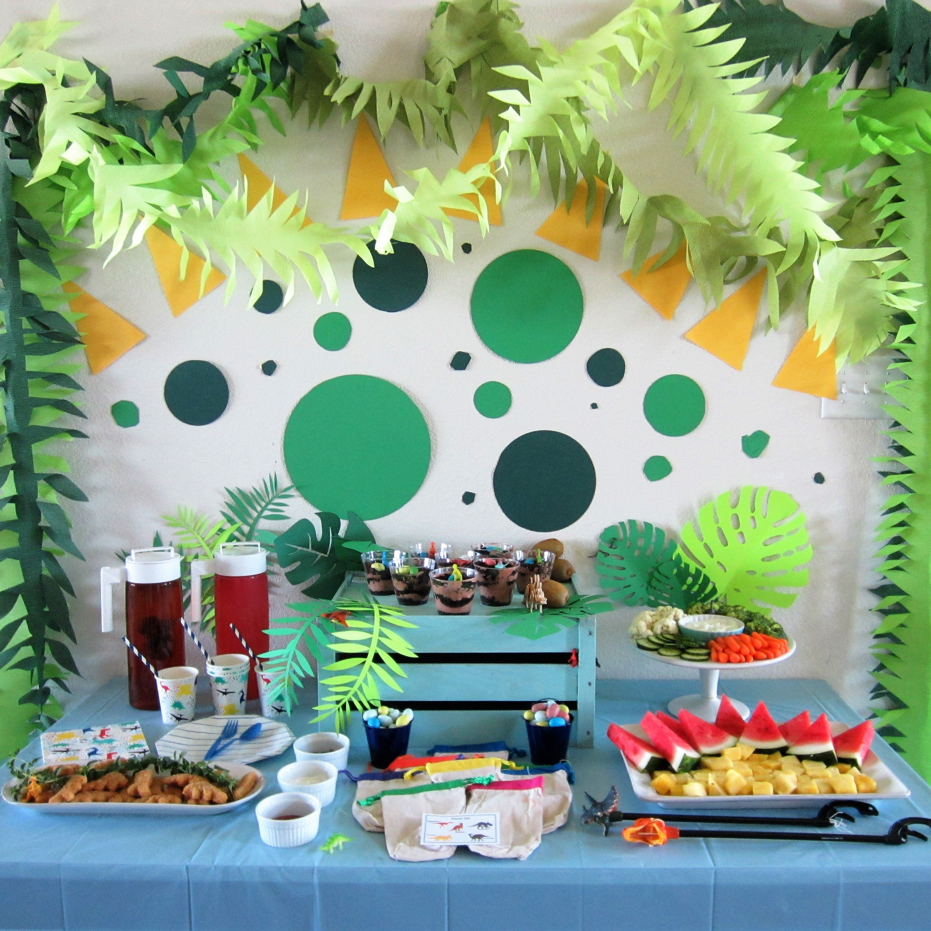 Dinosaur Discovery Party