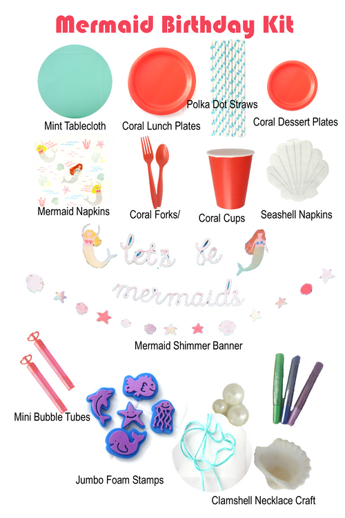 Mermaid Birthday Kit