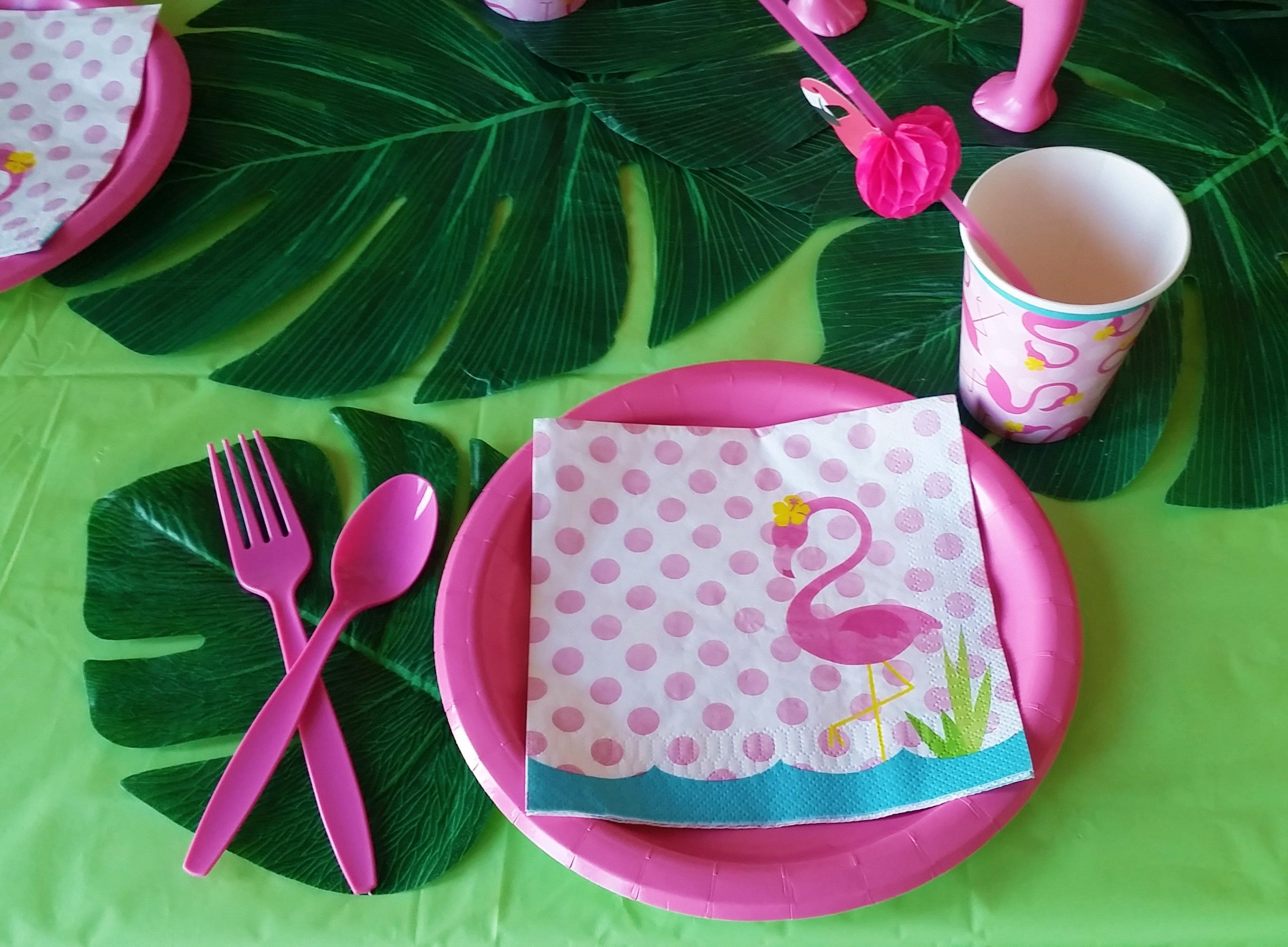 Tropical Flamingo Party- Simply Fun