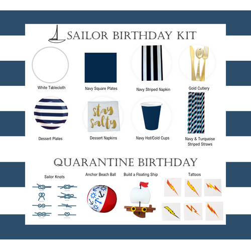 Sailor Quarantine Birthday Kit