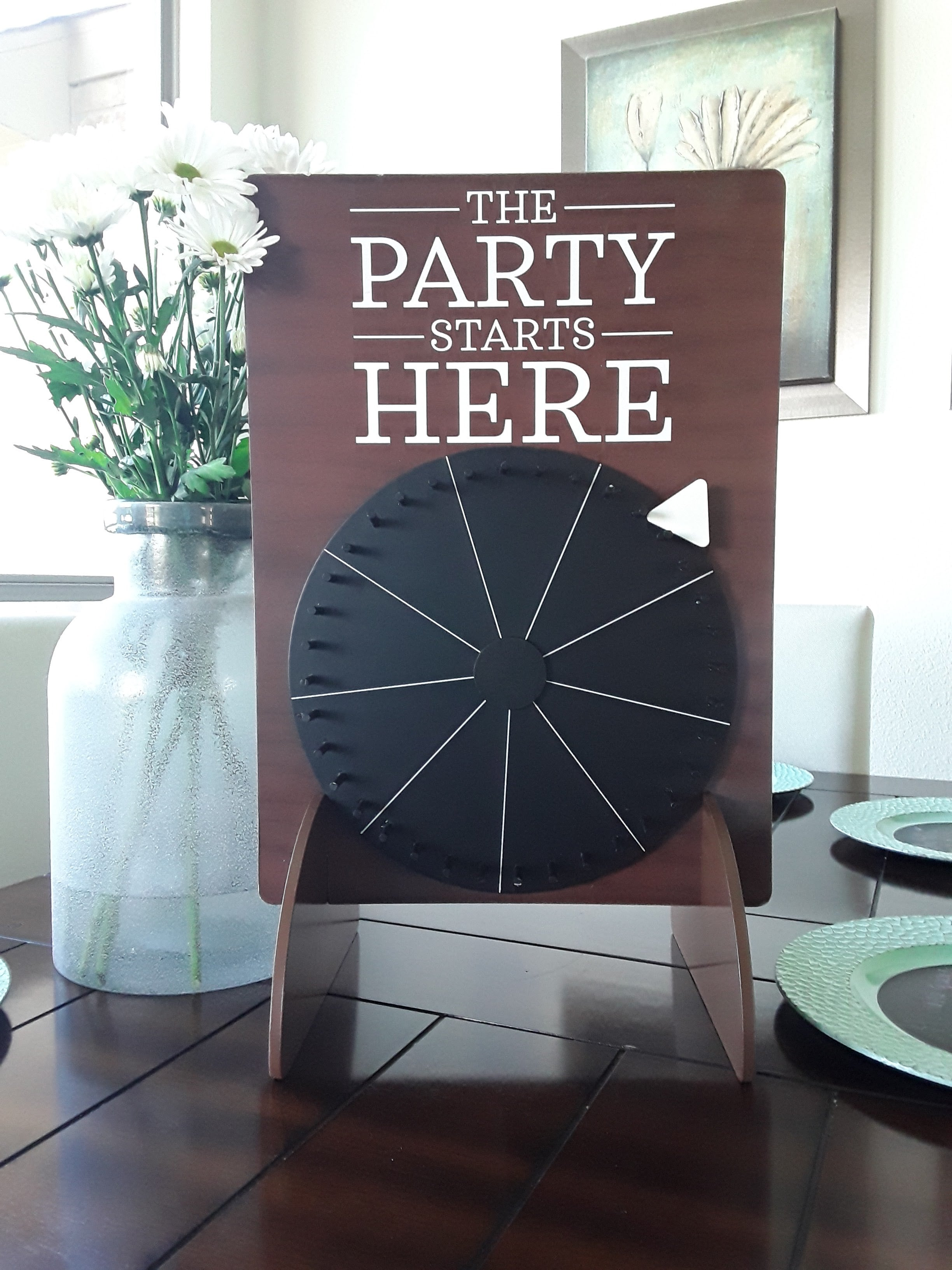 Chalkboard Spin the Wheel
