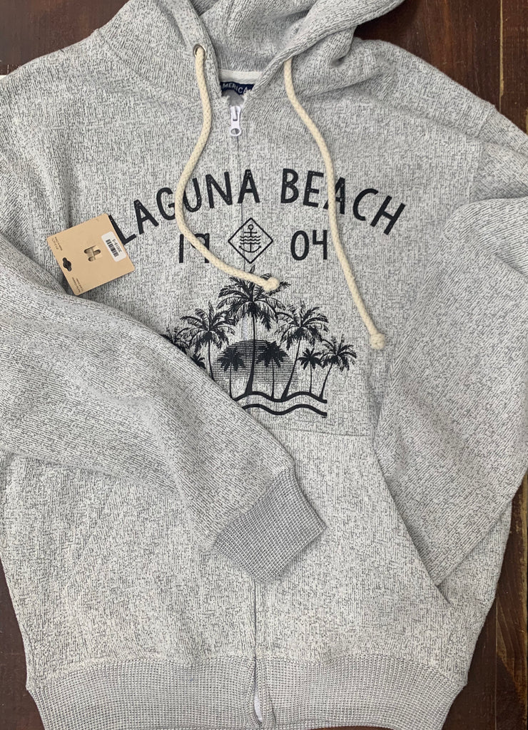 LB Zip Up Sweatshirt Grey