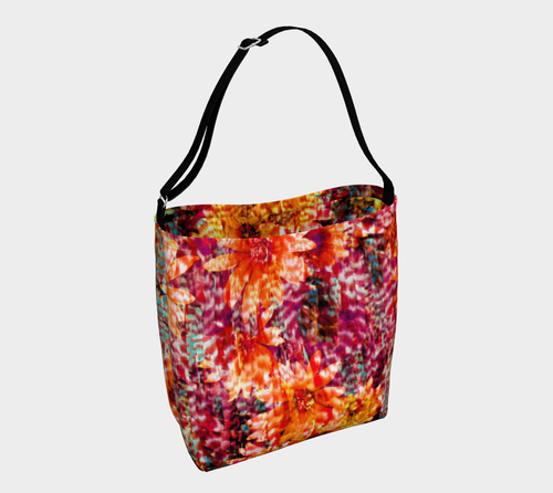 Ambient Floral Stretchy Tote