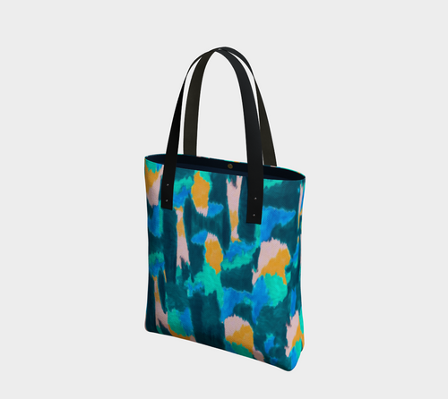 Watercolor Urban Tote