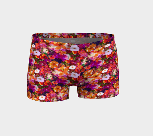 Illuminated Floral Shorts