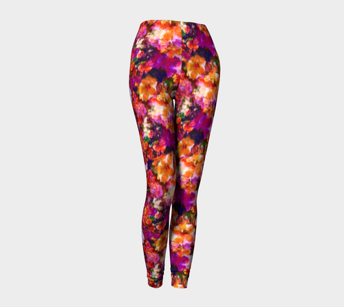 Illuminated Floral Leggings