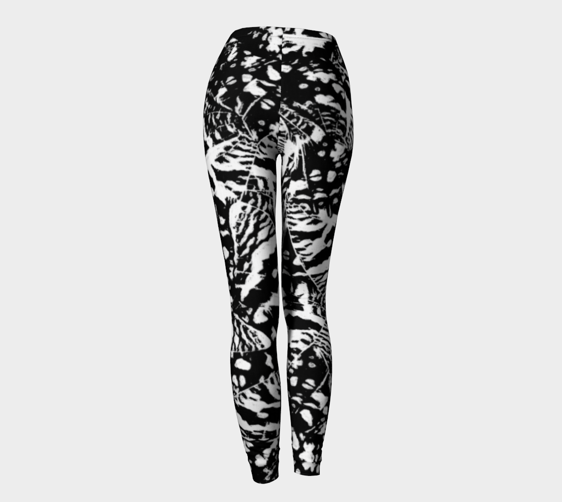 Ink Blot Butterfly Leggings Leggings  Roxie Rudolph Roxie Rudolph Roxie Rudolph