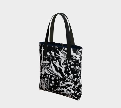 Ink Blot Butterfly Urban Tote