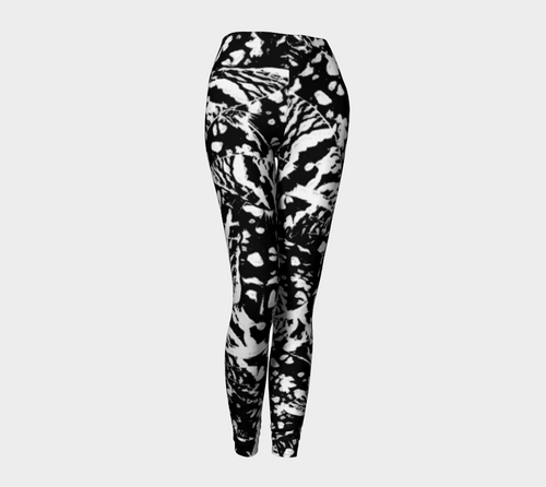 Ink Blot Butterfly Leggings