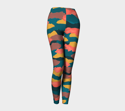 Camo Clouds Leggings