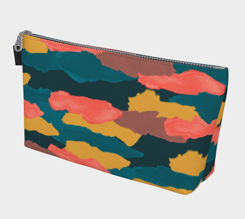 Camo Clouds Makeup Bag