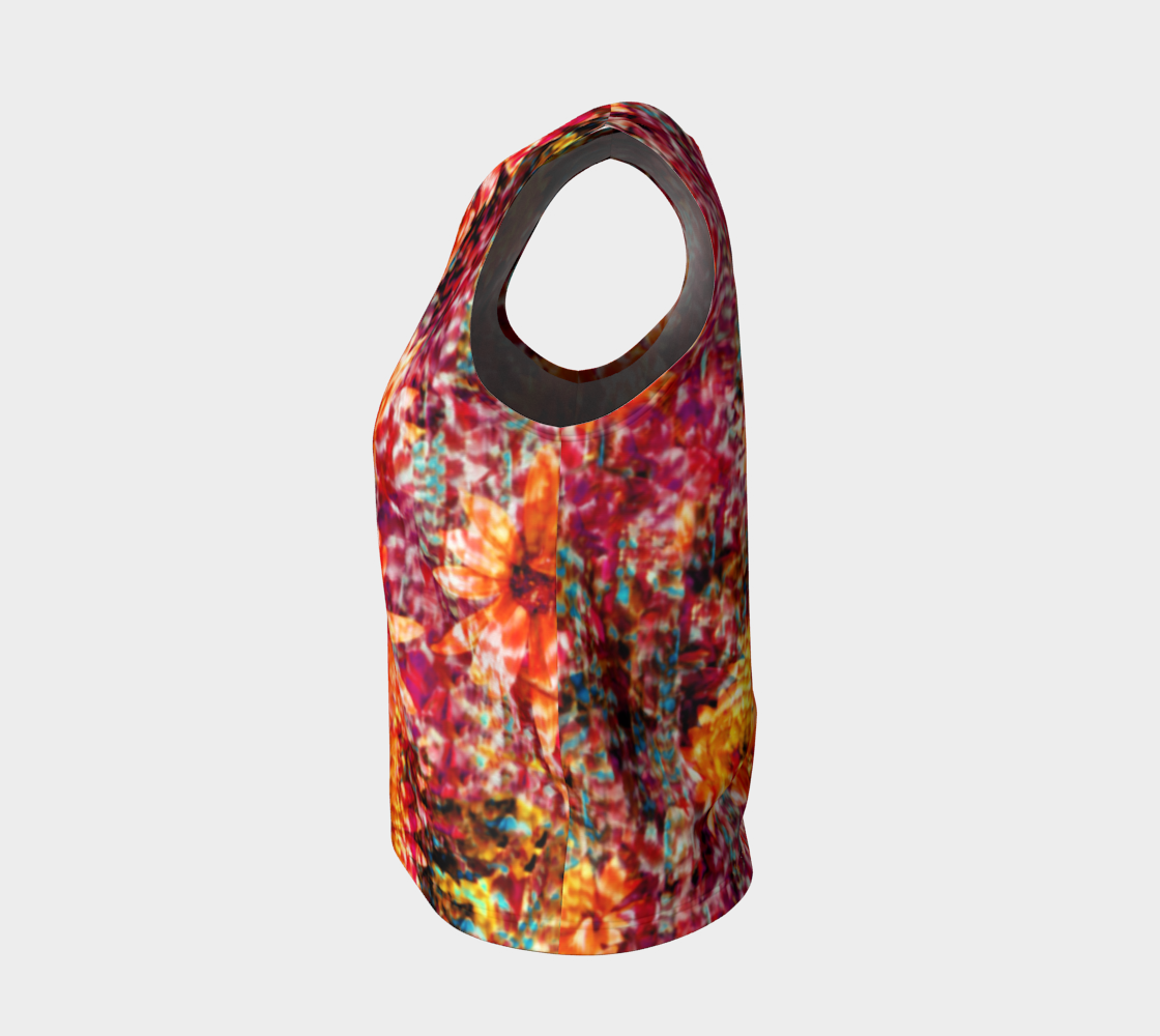 Ambient Floral Loose Tank Top/Regular Length Loose Tank Top (Regular)  Roxie Rudolph Roxie Rudolph Roxie Rudolph