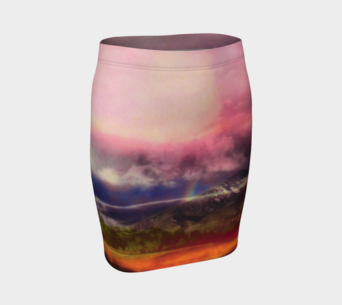 Taos Mountain Fitted Skirt