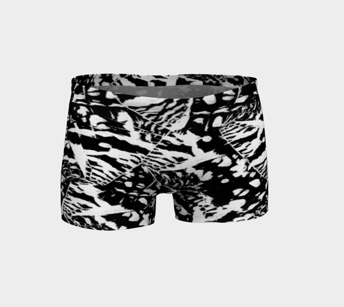 Ink Blot Butterfly Shorts