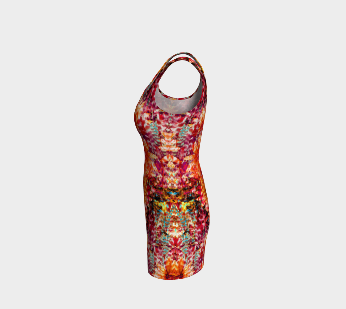 Ambient Floral Bodycon Dress Bodycon Dress  Roxie Rudolph Roxie Rudolph Roxie Rudolph