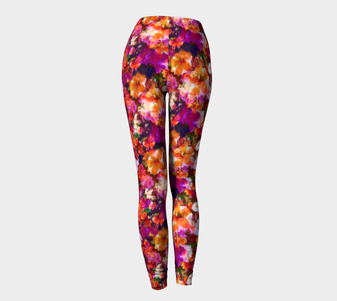 Illuminated Floral Leggings Leggings  Roxie Rudolph Roxie Rudolph Roxie Rudolph