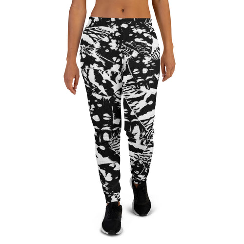 Ink Blot Butterfly Joggers