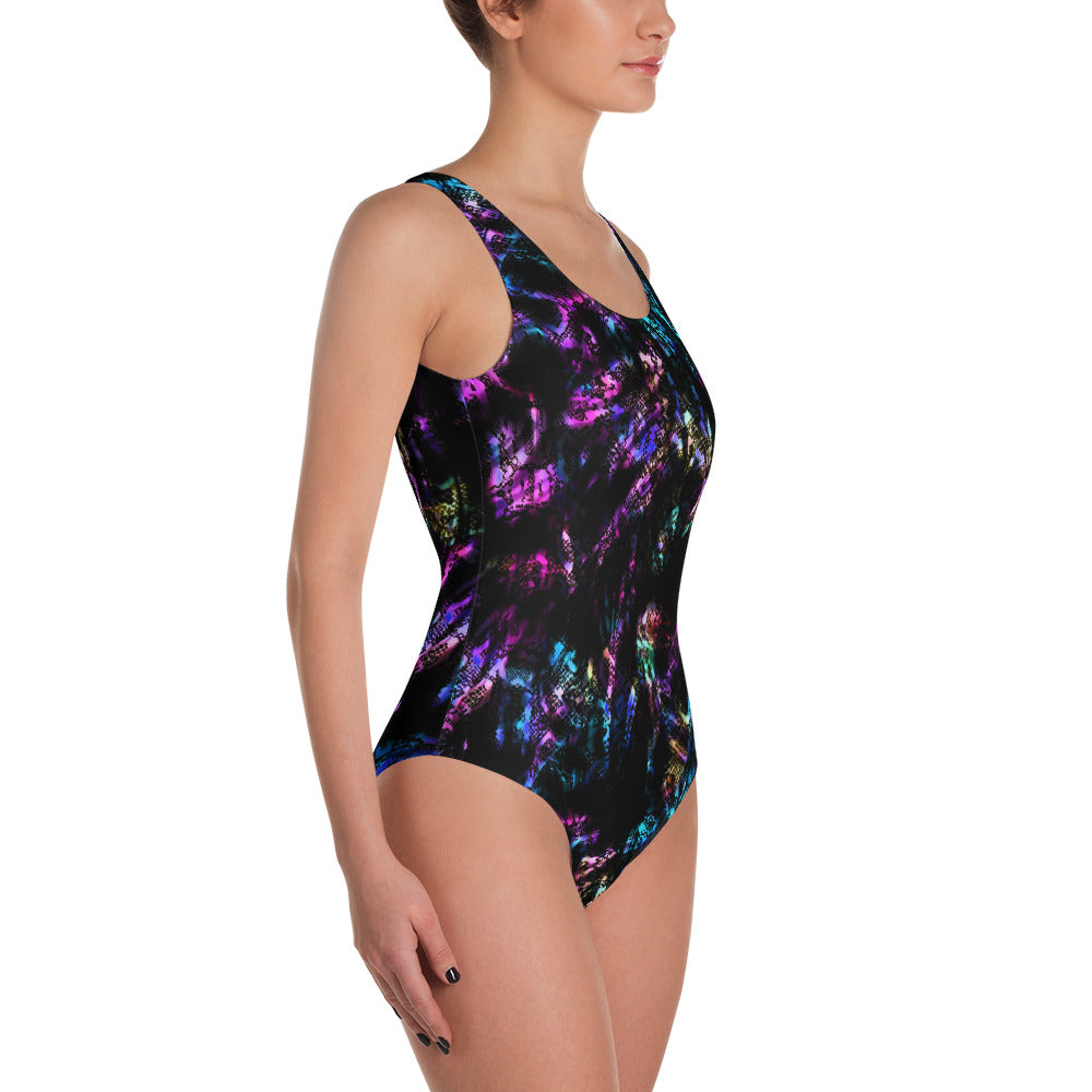 Neon Snake One Piece Swimsuit   Roxie Rudolph Roxie Rudolph Roxie Rudolph