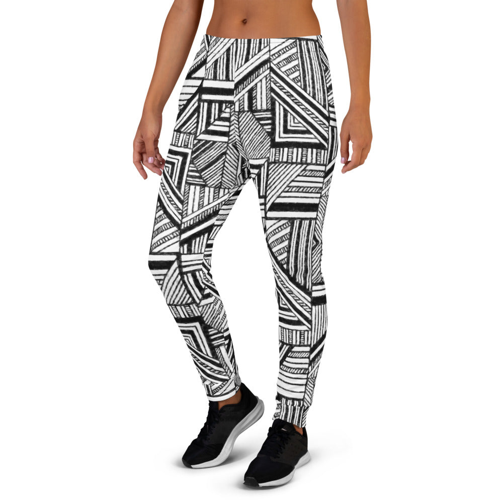 Striped Patchwork Joggers Joggers  Roxie Rudolph Roxie Rudolph Roxie Rudolph