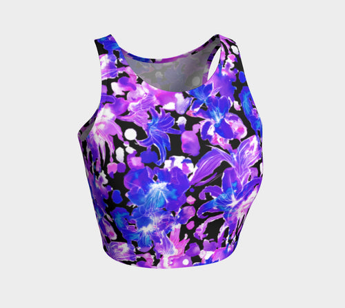 Moody Lily Athletic Crop Top