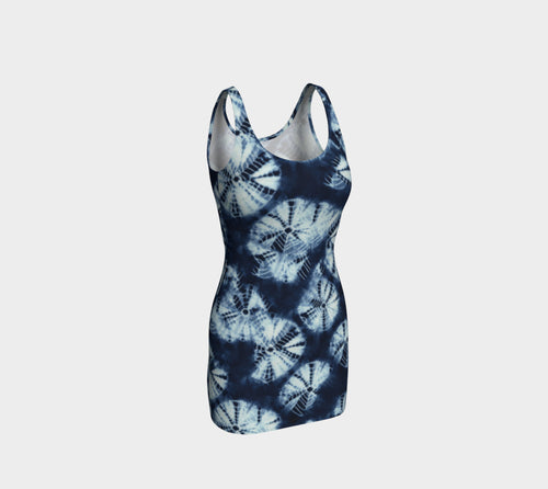 Shibori Bodycon Dress