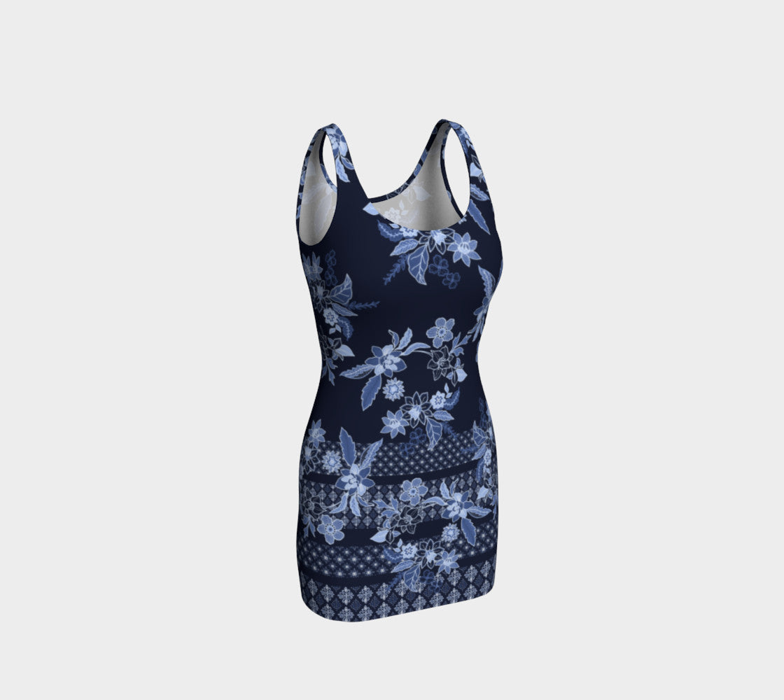 Boho Floral Bodycon Dress Bodycon Dress  Roxie Rudolph Roxie Rudolph Roxie Rudolph
