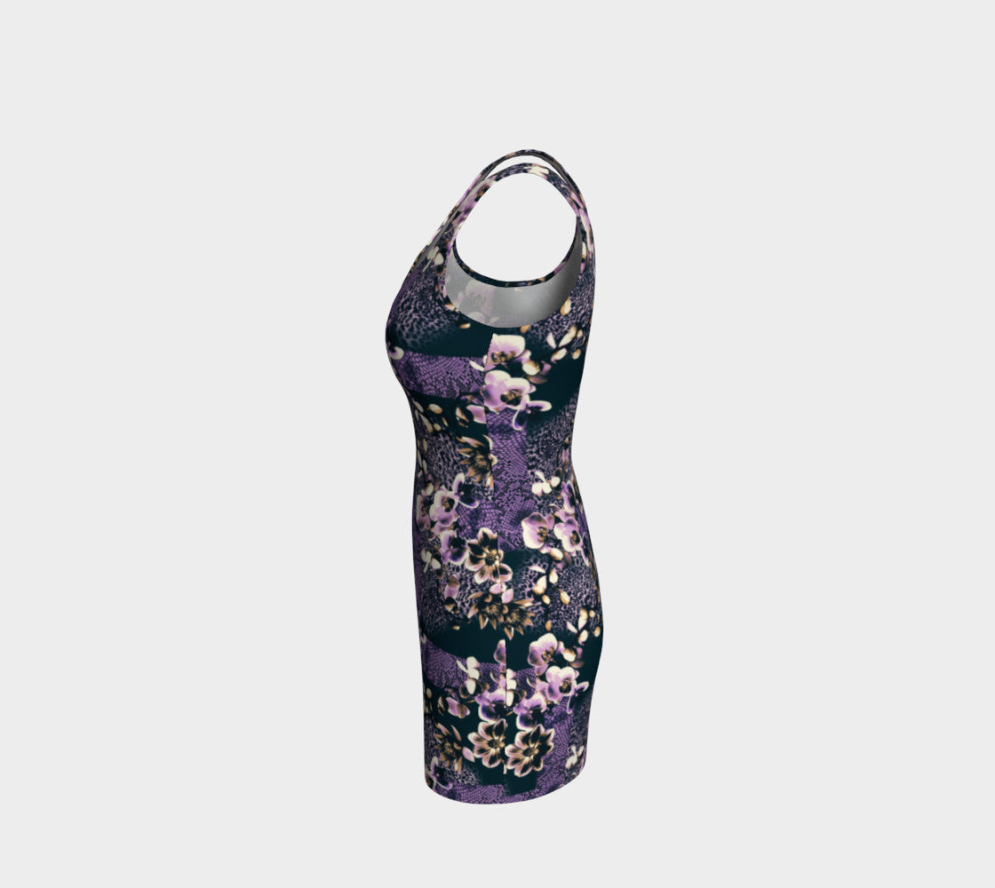 Floral Animal Bodycon Dress Bodycon Dress  Roxie Rudolph Roxie Rudolph Roxie Rudolph