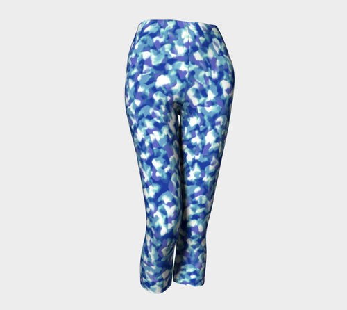 Blue Bliss Capris