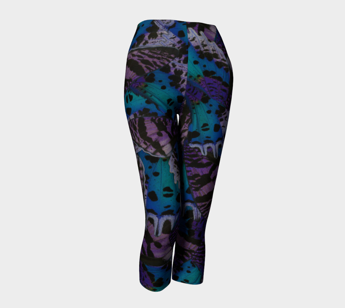 Moody Butterfly Capris Capris  Roxie Rudolph Roxie Rudolph Roxie Rudolph