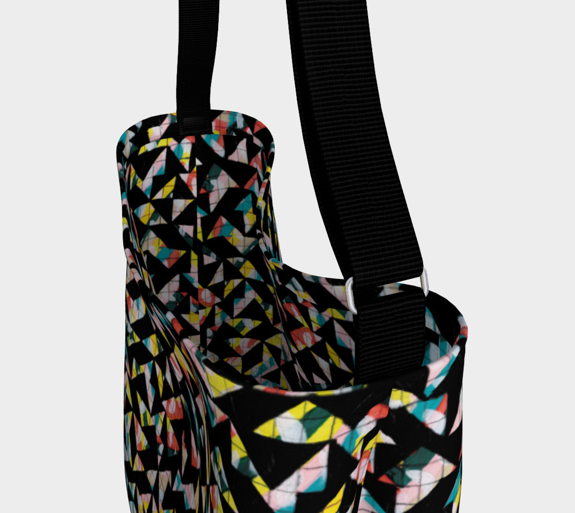 Geo Grid Stretchy Tote Day Tote  Roxie Rudolph Roxie Rudolph Roxie Rudolph