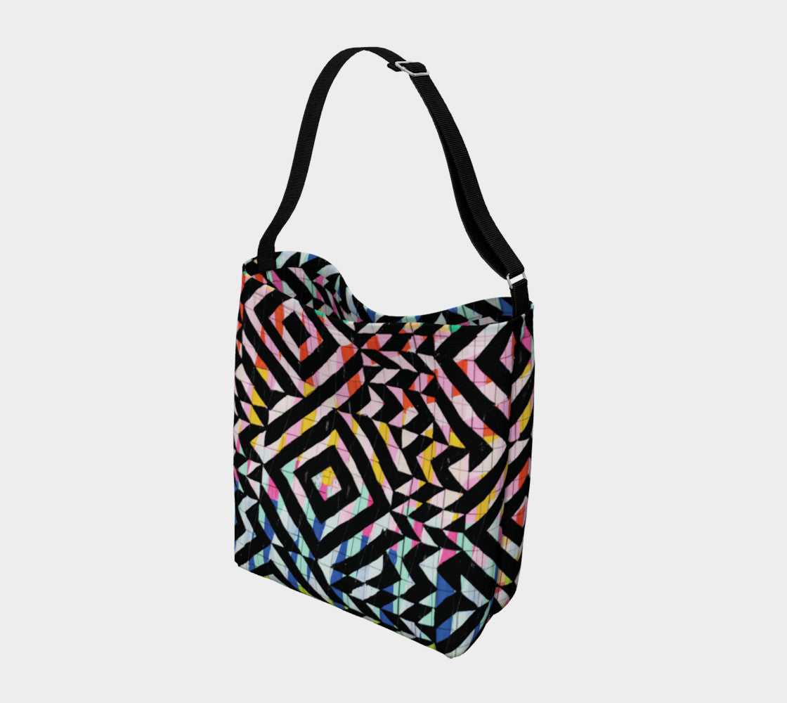 Street Art Mural Stretchy Tote Day Tote  Roxie Rudolph Roxie Rudolph Roxie Rudolph