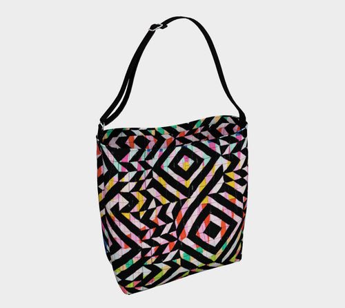 Street Art Mural Stretchy Tote