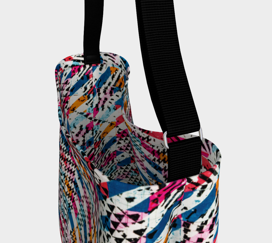 Patternmix Block Print Stretchy Tote
