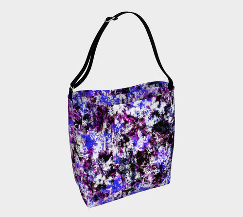Fantasy Floral Stretchy Tote
