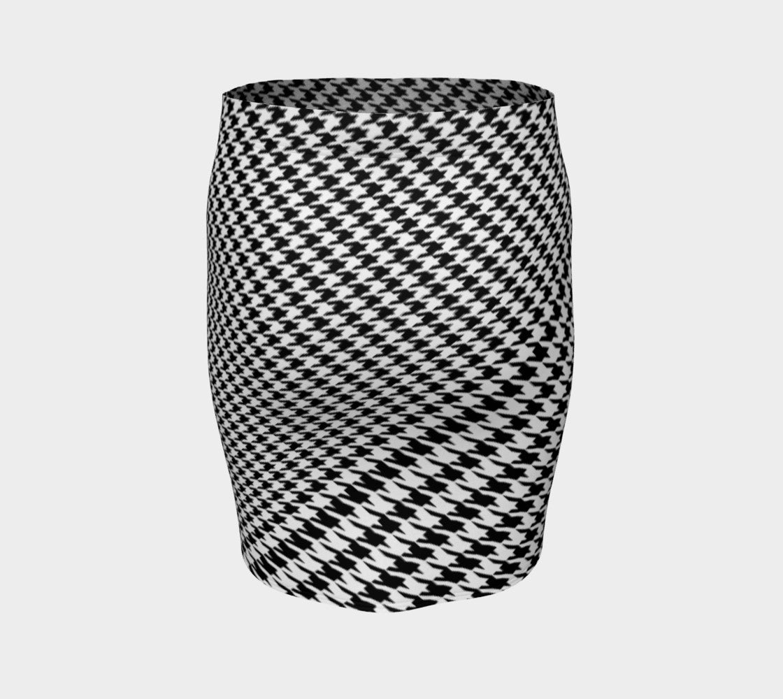 Houndstooth Fitted Skirt Fitted Skirt  Roxie Rudolph Roxie Rudolph Roxie Rudolph