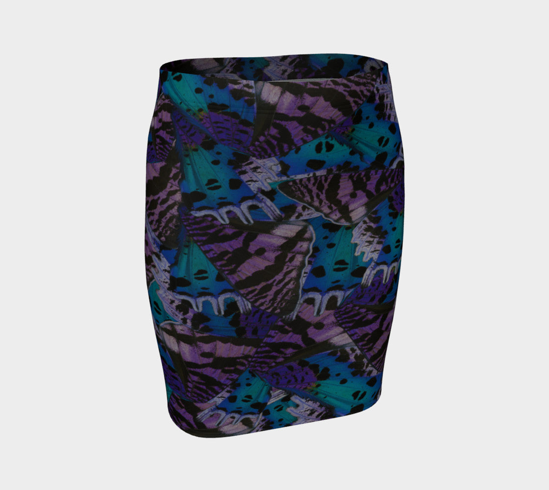 Moody Butterfly Fitted Skirt Fitted Skirt  Roxie Rudolph Roxie Rudolph Roxie Rudolph