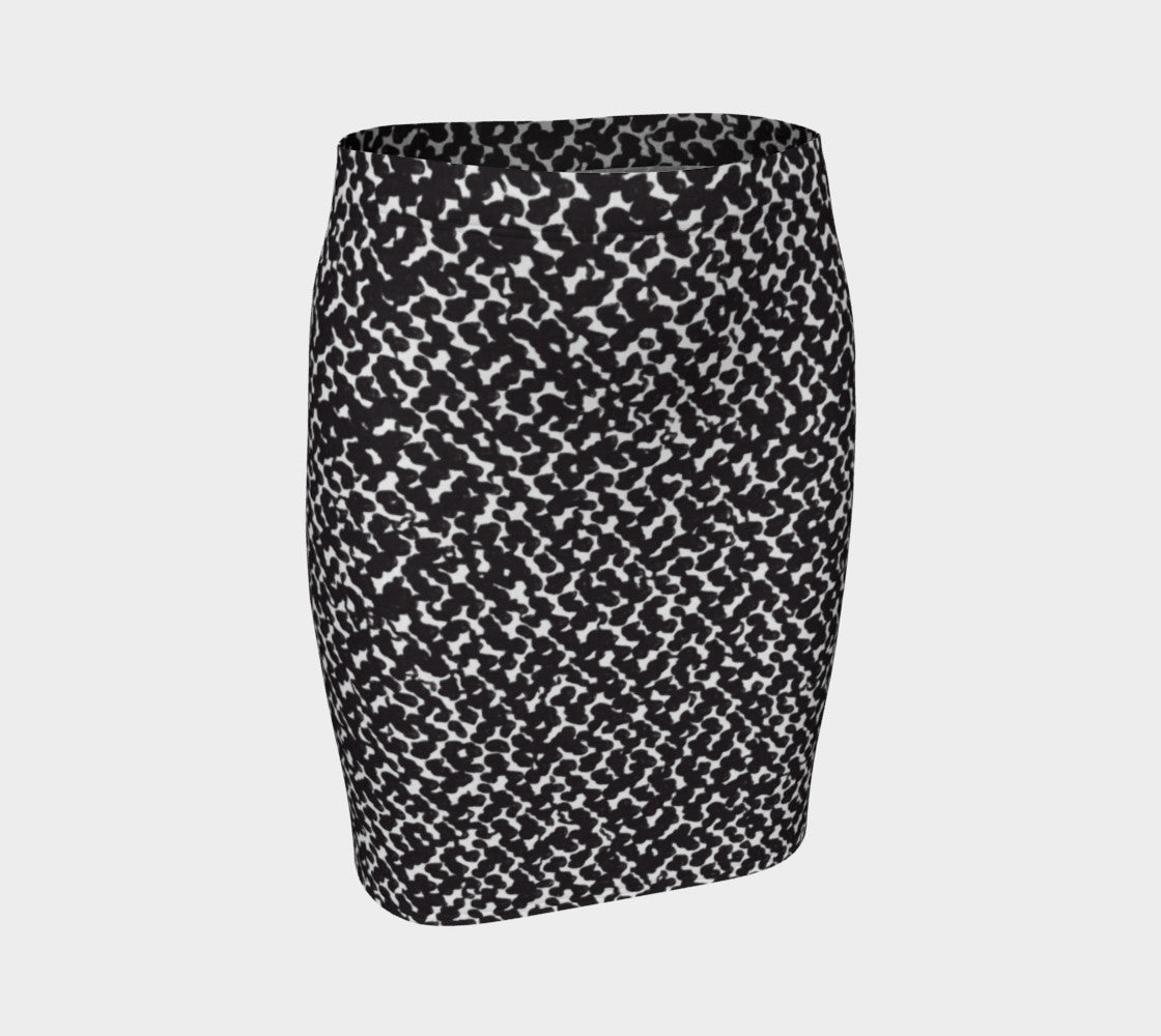 Graphic Animal Fitted Skirt Fitted Skirt  Roxie Rudolph Roxie Rudolph Roxie Rudolph