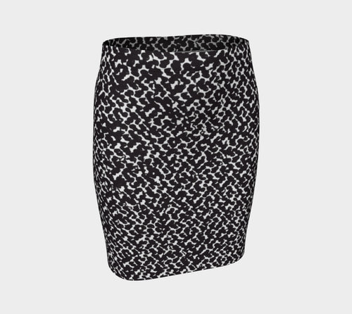 Graphic Animal Fitted Skirt