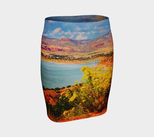 Abiquiu Lake Fitted Skirt